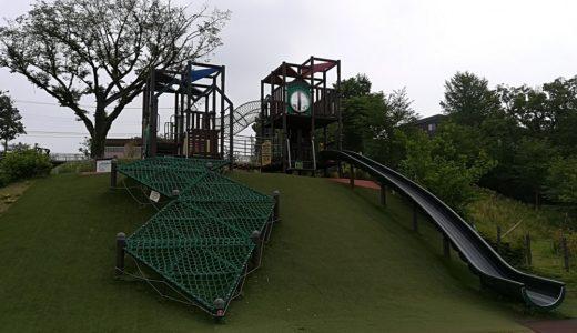 多摩市【都立桜ヶ丘公園】遊びの広場(遊具)/ゆうひの丘の夜景・桜・紅葉の絶景スポット♪