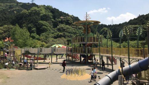 大分県「佐野植物公園」は60mスライダーに草すべりと滑り台がいっぱい♪