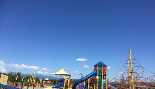 大和ゆとりの森|充実の遊具!滑り台!バーベキューもできる!飛行機がビュンビュン飛んでいる公園!!