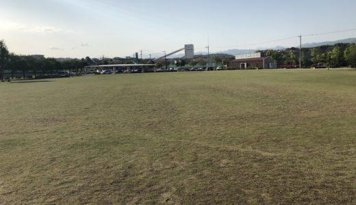金沢|犀川緑地公園(大桑ぐるぐる広場)|遊具豊富・水遊びも出来る!駐車場は?