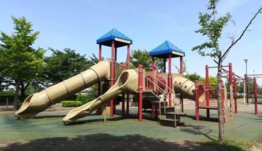 稲城北緑地公園|遊具遊び・バーベキュー・桜・バスケ・スケボー全部できる♪