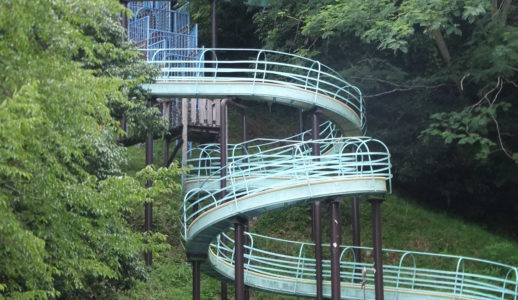 宇陀市「室生不思木の森公園」ローラー滑り台や複合遊具で思いっきり遊ぼう!利用禁止遊具情報も。