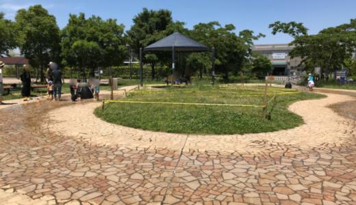 市川市広尾防災公園の遊具は?バーベキューは許可制。夏は水遊び!サッカーも出来るよ!
