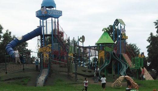 埼玉県「羽生水郷公園」大型遊具がいっぱい!カヌーや水族館など水が主役の公園