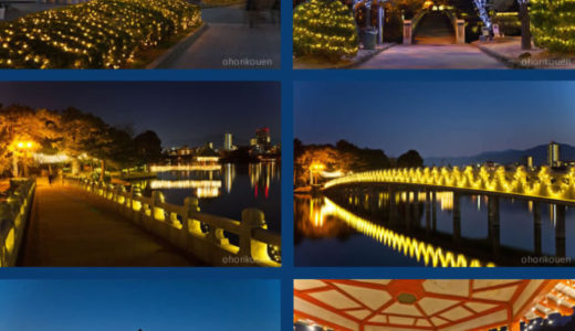 福岡市|冬はイルミネーション♪子供と一緒に楽しめる公園3選
